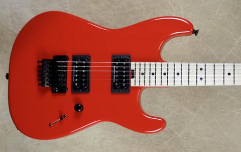 Charvel USA Custom Shop San Dimas 2H Ferarri Red Pointy Headstock Guitar