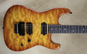 Charvel USA San Dimas Custom Shop 2H Violin Burst Guitar