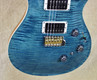 PRS Paul Reed Smith Custom 24 Piezo 10 Top Rosewood Neck Blue Crab Blue Guitar