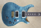 PRS Paul Reed Smith Custom 24 Piezo 10 Top Rosewood Neck Blue Crab Blue Guitar
