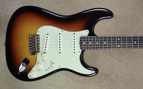 Fender Custom Shop LTD '59 Strat Journeyman Relic Stratocaster Faded 3TSB AAA Flamed Maple Neck