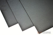 "12"" x 24"" Boltaron Sheet Stock .080 Black"