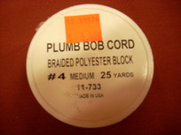 Plumb Bob Cord