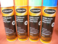 Keson Ultramark Fluorescent Spray Paint