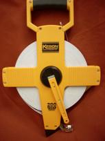 Keson Fiberglass 200' Measuring Tape- Metric