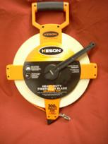Keson Fiberglass 300' Measuring Tape- Metric