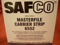 Safco Masterfile Carrier Strips