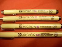 Pigma Micron Pen