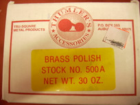 Tumbler Brass Polish - 30 oz