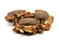 "Sea Salt Caramel Pecan Clusters ""Turtles"""
