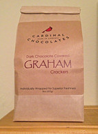 Dark Chocolate Covered Graham Crackers
