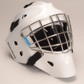 Hackva goalie helmet. E-mail for size and color.  Free shipping US only.