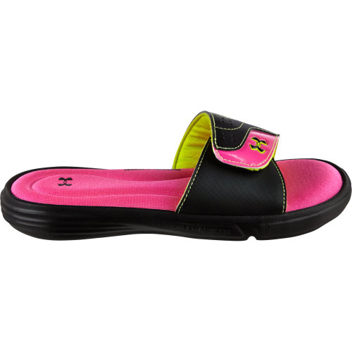 girls under armour ignite slides