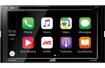 """JVC KW-V830BT 6.8"""" DVD Receiver with Apple CarPlay & Android Auto"""