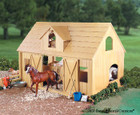 Breyer Horses Deluxe Wood Barn with Cupola