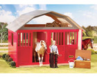 Breyer Horses Red Two-Stall Barn