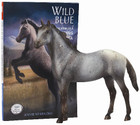 Breyer Horses Wild Blue: The Story of a Mustang Appaloosa