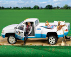Breyer Horses Traditonal Dually Truck and Two-Horse Trailer