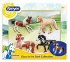 Breyer Horses Stablemates Glow in the Dark Gift Set
