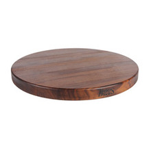 "Walnut R Cutting Board - 18"" Round - John Boos"