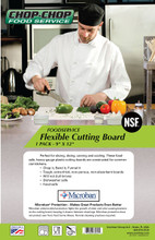 "Chop-Chop Food Service Flexible Cutting Board, Size 9"" x 12"""