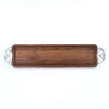 Bread Board - Walnut (w/ Classic Handles)