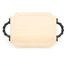 """Selwood 9"""" x 12"""" Cutting Board - Maple (w/ Twisted Handles)"""