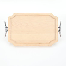 "Selwood 12"" x 18"" Cutting Board - Maple (w/ Cleat Handles)"