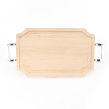 """Selwood 15"""" x 24"""" Cutting Board - Maple (w/ Polished Handles)"""