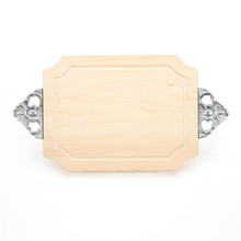 "Selwood 9"" x 12"" Cutting Board - Maple (w/ Scalloped Handles)"