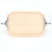 "Selwood 12"" x 18"" Cutting Board - Maple (w/ Long Horn Handles)"