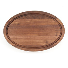 "Grandbois Standard 12"" x 18"" Cutting Board - Walnut (No Handles)"