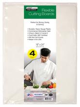 """Chop-Chop FOOD SERVICE GRADE FLEX MAT, Size 18"""" x 24"""", Pack of 4"""
