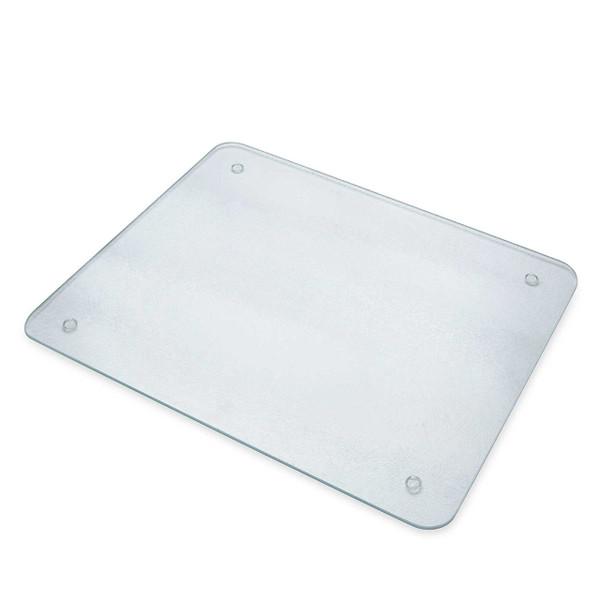 Chop-Chop Glass Cutting Board Or Counter Saver, 16 x 20 Inches