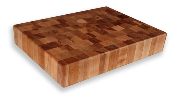 "Michigan Maple Block - End Grain Chopping Block- 15""x 20""x 3-1/2"""