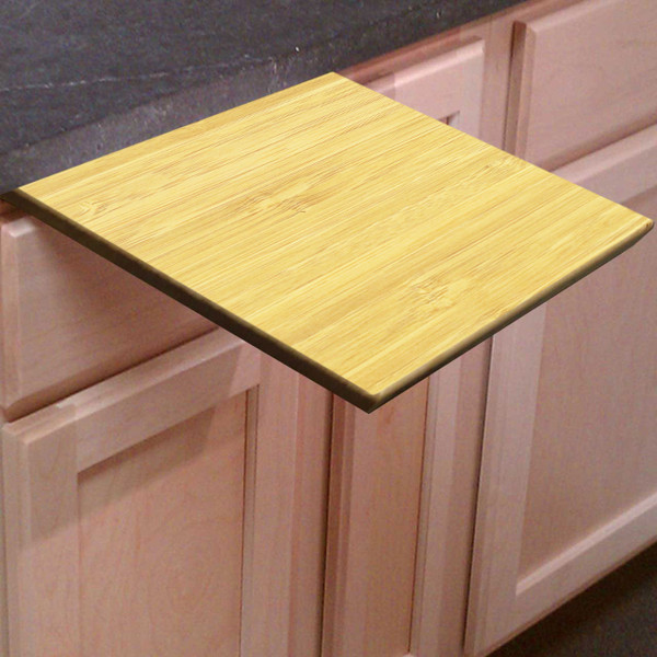Light Bamboo Pull Out Cutting Board