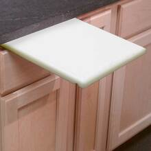 3/4 Inch Thick Pull Out Under Counter Cutting Board