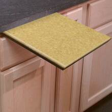1 Inch Thick Richlite Pull Out Under Counter Cutting Board