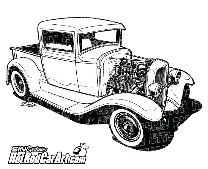 Alfa Romeo 75 America as well List of railroad truck parts as well 1932 Custom Ford Pickup Truck together with Chevy additionally Automotive Electrical Circuit Diagram. on 1940 chevrolet truck rod