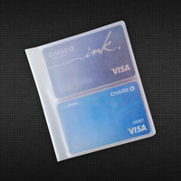 Vinyl Business or Credit Card Holder (2 High)