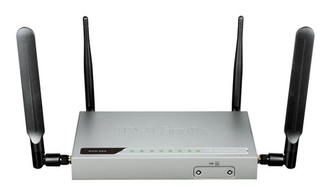 D-Link DWR-925 4G LTE VPN Router with SIM Card Slot Front View