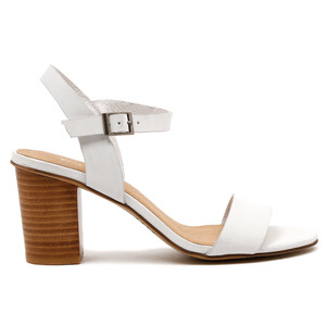 Lippers High Heels in White