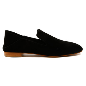 Sasso Flat Loafers in Black