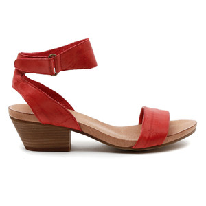 Clarise Mid Heels in Red