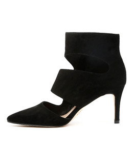 BALLAST High Heels in Black Suede