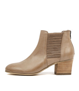 BEAUTY Ankle Boots in Ash Leather