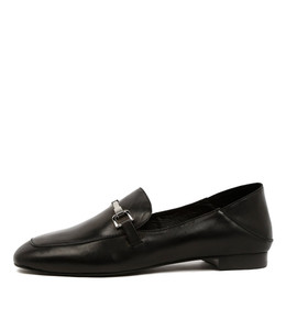 SAVORY Loafers in Black Leather