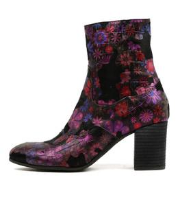 UGONE Heeled Boots in Multi Metallic Leather