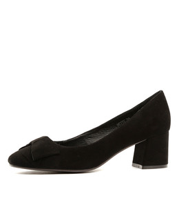 METTE High Heels in Black Suede