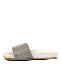 BLAINT Sandals in Silver Chain